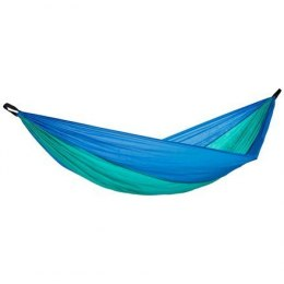 Amazonas Adventure ice-blue Travel Hammock, 275x140 cm, Ultralight (only 180 grams)