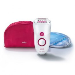 Braun Young Beauty Legs Epilator Silk-Epil 5-5185 Number of speeds 2, Number of intensity levels 2, White/pink