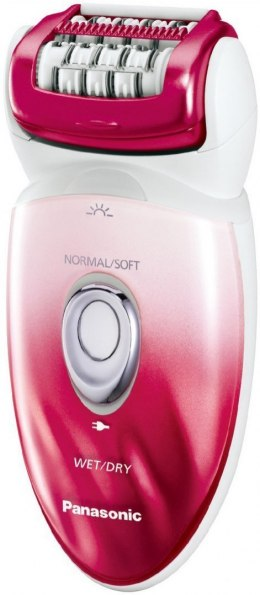 Panasonic Epilator ES-ED92RP503 Number of speeds 2, Number of intensity levels 2, Operating time 30 min, Pink