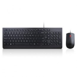 Lenovo Keyboard and Mouse Combo, Wired, Keyboard layout Lithuanian, Black